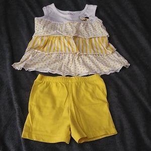 Toddler bee outfit